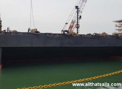 Ballastable Offshore Deck Cargo Barge for Sale