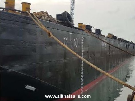 DNV.GL Classed Offshore Deck Cargo Barge for Sale